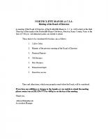 Meeting-Agenda